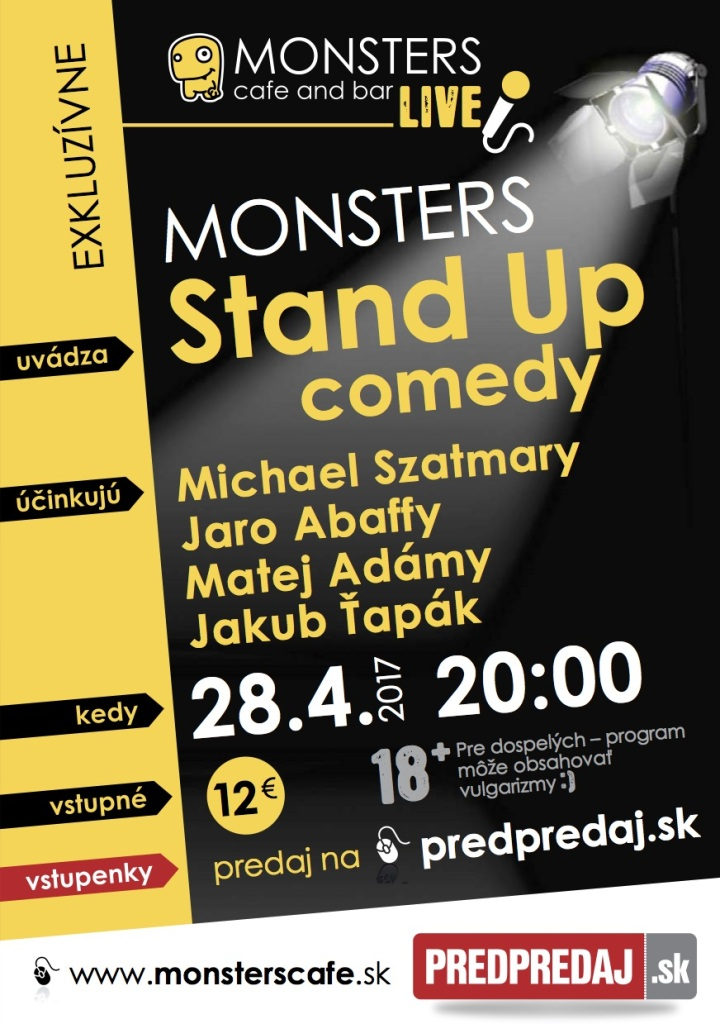 Monsters_Stand Up_April 2017